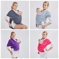 Wholesale sling newborn infant for sale - New Infant Sling Solid Color Toddler Newborn Cradle Pouch Mother And Baby Supplies Breathable Comfort bo C R