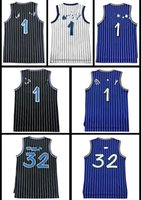 Wholesale Cheap Army Shorts - Retro Men Mesh hardaway #1 McGrady #1 Basketball jersey High quality Shaquille O'neal #32 jerseys Cheap sales Embroidery Logos free shipping