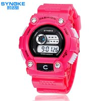 Wholesale Watch Brand Korea - Fashion brand watches wholesale sports electronic male watch young people love South Korea hot YCT-8888