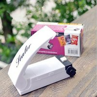 Heat Sealing Portable Haushalt Vakuum Sealer Küche Supplies Snacks Taschen ABS Sealing Clip Hand Druck Heat Bag Sealing Tool Home