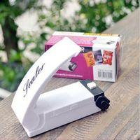 Wholesale Heat Abs - Heat Sealing Portable Household Vacuum Sealer Kitchen Supplies Snacks Bags ABS Sealing Clip Hand Pressure Heat Bag Sealing Tool Home