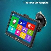 Wholesale Car Navigation Touch Screen Sale - 2016 Hot Sale Junsun D100 Win CE 6.0 7.0 inch 256MB RAM 8GB ROM Car GPS Navigator Navigation Multi-media Player with Free Maps