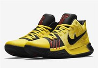 Wholesale Pvc Channels - Kyrie Channels Mamba Mentality With Kyrie 3 Bruce Lee Basketball Shoes Top Quality Discount Sale With Box 8-12