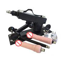 Wholesale sex gun accessories - Automatic Sex Machine Gun with Dildo Accessories Female Masturbator Love Machines Make Love Robot Sex Furniture Toys