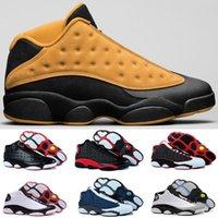 Wholesale Games Money - air retro 13 man basketball shoes Low Chutney Navy blue Pure Money Chicago black cat DMP Barons Flint He Got Game sports Sneakers