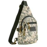 Wholesale Cotton Sling Backpack Wholesale - Outdoor Waterproof Tactical Backpack Military Sport Chest Pack Shoulder Backpack for Camping Hiking Sling Pack