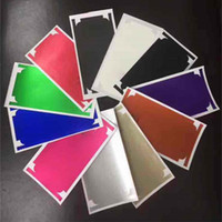 iphone geri koruyucusu mat toptan satış-Iphone x için Skins Çıkartmalar Tam Vücut Mat Su Geçirmez Geri Ekran Koruyucu Cilt Kapak iphone x 7 8 artı 6 6 s artı iPhone7 11 Renkler
