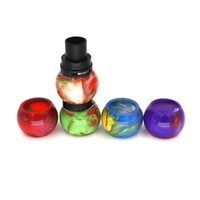 Replacement Epoxy Resin Expansion Tube Caps Tubos de grande capacidade para SMOK TFV8 / TFV8 Baby X-Baby Tank Atomizer