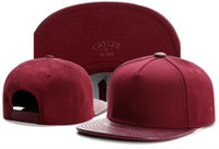 Wholesale Snapback Wine Red - summer caps snapbacks Hat plain blank wine red cayler and sons snapback hats snapbacks caps snap back hat baseball basketball cap TYMY 542