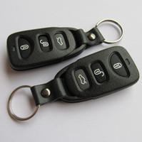 hyundai araba uzaktan kumandaları toptan satış-Otomobiller için yedek araba anahtarı durum hyundai 3 düğmeler uzaktan anahtar boş kabuk fob anahtar kapak