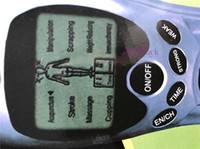 ingrosso massaggio elettrico-Massager di terapia digitale di total body decremento del muscolo di impulso di dimagramento Relax Massaggio elettrico sottile di rilievi di dolore di 4 pastiglie, con l'imballaggio al dettaglio