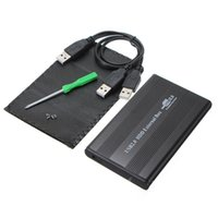 Wholesale ide inch casing for sale - High Quality Black USB Inch pin IDE HD Hard Disk Drive HDD External Case Enclosure Box For Mac OS Notebook Laptop PC