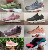 Wholesale Elephant Print Laces - Huarache iD Atmos Elephant Print 1 One Running Shoes Men Women Huaraches Green White Pink Grey Purple Sneakers Sport Athletic Trainers 36-45