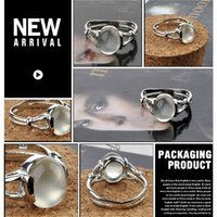 Wholesale Bella Moonstone - Twilight New Moon BELLA Natural Moonstone Ring Isabella Swan Cullen Vampire Girl Ring - Jewelry Moonstone Ring