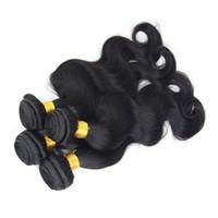 Wholesale Queen Virgin Hair 5a - Queen Brazilian Virgin Hair 4 Bundles Human Hair Extension Brazilian Body Wave 5A Unprocessed Virgin Brazilian Hair Weave 4pcs