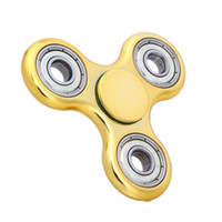 Wholesale Single Speed Toy - ABS UV Hand spinner high speed focus toy fidget spinner for kids and adult to kill time relieve stress