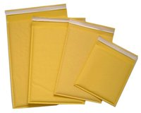 Малый Kraft Bubble Mailer Padded Конверты Сумки Mailers Self Sealing Shipping Pack Pack 100pcs