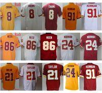 Wholesale M L Kirk - Cheap Color Rush #8 Kirk Cousins Jersey Stitched #21 Sean Taylor Red White #86 Jordan Reed #24 Josh Norman #91 Ryan Kerrigan Jerseys