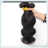 Wholesale Nature Hair Weave - Muse Hair Cheap Cambodian nature Human Hair Body Wave Cambodian human hair unprocessed100g pc 8pcs bundles lot free shipping