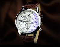 Wholesale Cheapest Casual Watch - 2017 cheapest!! Mens Watches NORTH Luxury Casual Quartz Sports Wristwatch Leather Strap Male Clock watch for gifts