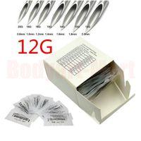 Wholesale Sterilized Body Piercing Needle - 100PCS Body Piercing Needles Sterilized Steel Piercing Needles 12G 13G 14G 15G 16G 18G 20G Supply PNC#