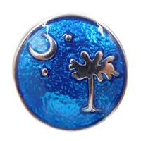 star snap buttons jewelry venda por atacado-A043 Noosa árvore estrela esmalte pedaços snap botão jóias mais novo metal snaps