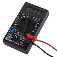 Wholesale Digital Ac Voltmeter Ammeter Dc - DT-830B LCD Digital Multimeter AC DC 750 1000V Voltmeter Ammeter Ohm Tester Meter Digital Multimeter