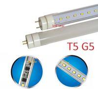 Wholesale t5 led base - bi pin G5 base T5 led tubes light 2ft 3ft 4ft led tubes with new design built-in power supply AC 110-265V easy installation
