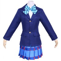 Wholesale japan girl cosplay for sale - New School Uniforms Anime Love Live Cosplay Costumes Girls Cute Peppy Japan Japanise Ladies Hot Costumes for Sale