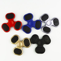 Wholesale Sd Switches - LED Fidget Spinner MP3 Audio Player 90 Min Play Time Support Micro SD TF Card Bluetooth Fidget with Switch 300mah Battery Spinner LEDB06
