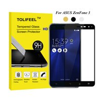 Wholesale tempered glass for zenfone - 3D Full Tempered Glass Film For ASUS Zenfone 3 ZE520KL ZE552KL Screen Protector Protective Film Full Cover