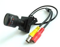 Wholesale Security Sensors Camera - 900tvl vari-focal lens mini camera 2.8~12mm adjustable lens 1 4''CMOS sensor security system CCTV Camera free shipping