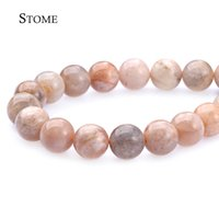 Loose Natural Sun pietra Perline tonde pietra preziosa 4-12mm Fashion Jewelry Strand Per DIY S-016 Stome