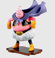 Wholesale Buu Figure - Dragon Ball devil13cm Dragon Ball Majin Buu PVC Actioon Figure Collectable Model Toy for children's gift free shipping