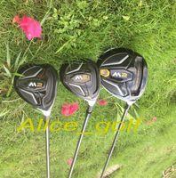 Wholesale Wholesale Driver Shafts - Top quality golf driver M2 driver 3#5# golf fairway woods with TM1-216 Graphite shaft 3pcs golf clubs