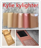 Wholesale French Wear - Kylie Cosmetics Kylighter French Vanilla Cotton Candy & Salted Carmel Highlighter Glow Face Makeup 6 color Bronzers & Highlighters