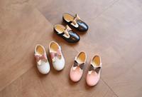 кроссовки для девочек оптовых-Новая весна лето осень Детская обувь девушки Принцесса обувь Мода дети один обувь лук-узел повседневная кроссовки