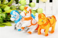 Wholesale special offer toys for sale - Group buy Cartoon animal toy chain clockwork toy horse horse stall selling products special offer children s toys for children
