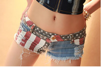 Wholesale Hot Girl Dancing Club - Hot Sale New Summer Spring Jeans Women's Club Dance Shorts Women Sexy Hot Jeans Casual Denim Shorts Girls Sexy Short Pant
