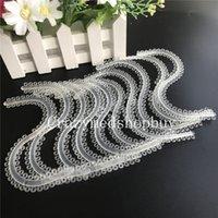 Yes orthodontic rubber bands - 10 Dental Orthodontic S Rings CLEAR COLOR Ligature Elastics Ties Rubber Band VEP