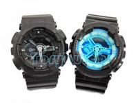 Wholesale watches for men colors - relogio G110 men s new colors available sports watches LED chronograph wristwatch digital watch good gift for men boy dropshipping