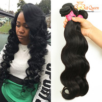 Wholesale Hair Colour 12 - Amazing Weaves Peruvian Body Wave Hair Natural Colour Wet And Wavy Hair Extensions Virgin Peruvian Hair Bundles 4Pcs Lot Dyeable Weft