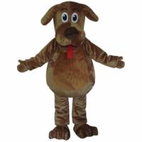 ingrosso costumi di pelliccia del fumetto-Costume della mascotte del fumetto di alta qualità agita i costumi della mascotte del cane i costumi lanuginosi della mascotte di Wags della pelliccia