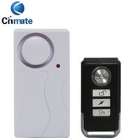 Novo Cheque Door Window Controle Remoto Smart Home Security Alarme Sistema de Aviso com Sensor Magnético Alarme Wireless Siren Detector Alarme