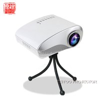 Wholesale Cheap Tv Projectors - Wholesale-White Multimedia Home Cinema Mini LED Projector,Support HDMI USB SD AV TV,Portable Cheap Projection Screen in Store for Sale