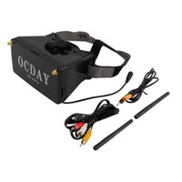 Wholesale Video Glass Viewer - 5.8G Dual Receiver FPV 3D Video Glasses Viewer Handset Video Virtual Display For RC Quadcopter