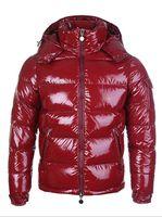 Wholesale Fur Coats Men Red - HOT!Frace Brand Men Casual Down Jacket MAYA Down Coats Mens Outdoor Fur Collar Warm Feather dress Winter Coat outwear JACKETS M066C