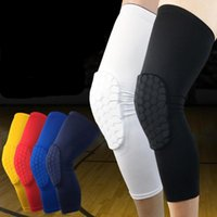Wholesale Motorcycle Elbow Protector - Wholesale- 1pc Protective Knee Brace Effective Motorcycle Knee Pads Cycling Gears Leg Guard Hockey Equipment Sports Leg Protector s2