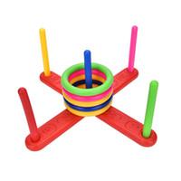alegrias de brinquedos venda por atacado-Brinquedo de Diversão Ao Ar Livre das crianças Esportes Saltos Anel Joy Ferrule Jogando Jogo Parent-criança Interação Brinquedos Indoor Brinquedos