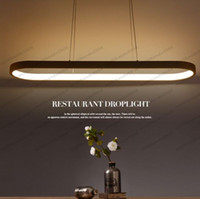 Wholesale Suspension Ceiling Light - NEW New Creative modern LED pendant lights Kitchen acrylic+metal suspension hanging ceiling lamp for dinning room lamparas colgantes MYY